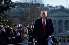 Tổng thống Mỹ Donald Trump kêu gọi không tiến hành biểu tình