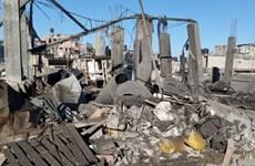 Palestine: Nổ lớn làm hơn 20 người bị thương ở Dải Gaza