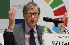 Tỷ phú B. Gates cảnh báo khả năng tiếp cận vắcxin của các nước nghèo