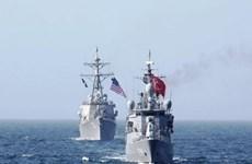 Hải quân Mỹ-Thổ Nhĩ Kỳ tiến hành huấn luyện chung ở Biển Đen