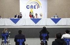 Ecuador thông báo kết quả kiểm lại phiếu bầu Tổng thống vòng 1