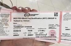 Sốt vé trận Thái Lan đối đầu Việt Nam, tăng gấp gần 10 lần giá gốc