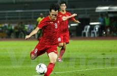 """Văn Toàn: """"Tôi tiếc đã không ghi bàn vào lưới Thái Lan vì sân trơn"""""""