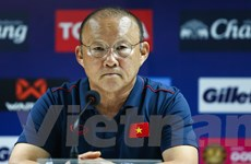 HLV Park Hang-seo: Tôi không đặt mục tiêu phải thắng Guus Hiddink