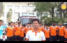 CLB Nam Định cúi đầu xin lỗi cổ động viên sau sự cố pháo sáng