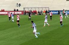 Văn Hậu đá chính, đội dự bị SC Heerenveen hoà 3-3 trước Feyenoord B