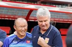 HLV Park Hang-seo: Đừng nói vì thua tôi mà Guus Hiddink bị sa thải