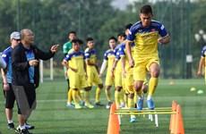 HLV Park Hang-seo sát sao U22 Việt Nam, bắt cầu thủ tích cực giao tiếp