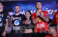 'Nam vương Boxing Việt' Trương Đình Hoàng so găng với tay đấm Hàn Quốc