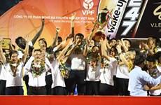 Hà Nội FC chính thức nâng cúp vô địch V-League 2019