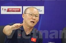 """HLV Park lên tiếng đáp trả việc HLV Thái Lan nói Việt Nam """"chơi xấu"""""""