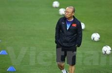 HLV Park Hang-seo: 'Nhiệm vụ của tôi là đưa bóng đá Việt Nam tiến lên'