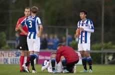Đoàn Văn Hậu đá chính ngày đội trẻ SC Heerenveen thua nặng nề 0-6