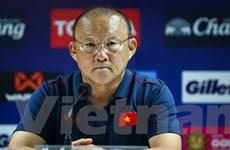 HLV Park Hang-seo: 'UAE sẽ chơi tất tay nhưng tuyển Việt Nam không sợ'