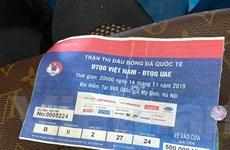 Vé trận Việt Nam-UAE bị làm giả tinh vi, dễ dàng lọt qua cổng soát vé