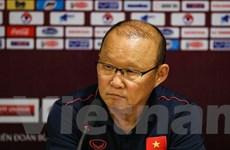 HLV Park Hang-seo: 'Thắng UAE, chúng ta hướng tới đánh bại Thái Lan'