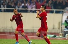 """Tiền đạo Tiến Linh: """"Tôi cũng bất ngờ với bàn thắng đẹp vào lưới UAE"""""""