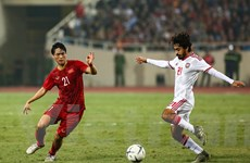 Tiền vệ Tuấn Anh chơi xuất sắc như nào trước đội tuyển UAE?