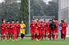 Gác nỗi lo tiền thưởng, tuyển nữ Việt Nam trở lại với mục tiêu Olympic
