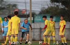 U23 Việt Nam tập kín trước ngày xuất quân tại VCK U23 châu Á