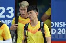 Đội hình dự kiến U23 Việt Nam-U23 UAE: Đình Trọng, Bùi Tiến Dũng dự bị