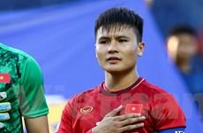 Tiền vệ Quang Hải hài lòng với trận hoà của U23 Việt Nam trước U23 UAE