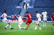 Cận cảnh U23 Việt Nam hoà U23 UAE sau hai lần VAR từ chối penalty