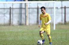 Tiền vệ U23 Việt Nam rất hồi hộp khi chờ quyết định VAR trong trận đấu