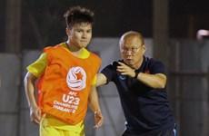 HLV Park nhắc nhở riêng Quang Hải, U23 Việt Nam sẵn sàng hạ U23 Jordan