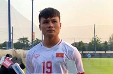 Quang Hải: 'U23 Việt Nam rất xúc động khi được Thủ tướng động viên'