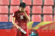 U23 Việt Nam thất thần rời sân Thái Lan khi bị loại sớm ở U23 châu Á