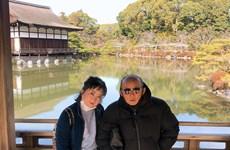 Hình ảnh HLV Park Hang-seo đón tết sum vầy cùng gia đình tại Nhật Bản