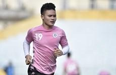 Quang Hải chấn thương nhẹ, Hà Nội FC sẵn sàng nghênh chiến TP.HCM