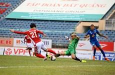 Công Phượng không ghi bàn, TP.HCM vẫn thắng đậm Quảng Nam