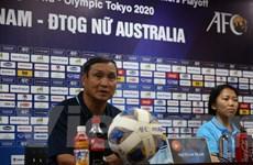 Tuyển nữ Việt Nam đặt mục tiêu ghi bàn trước Australia ở vòng play-off
