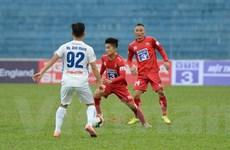 Hải Phòng chia điểm với Quảng Nam trên sân Lạch Tray ở vòng 2 V-League