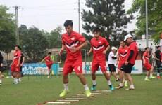 Nhiều đội bóng tập luyện trở lại, sẵn sàng cho vòng 3 V-League 2020