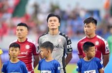 Bùi Tiến Dũng nói gì sau lần đầu bắt chính ấn tượng ở V-League 2020?