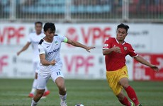 Tuấn Anh ghi bàn trở lại, HAGL lọt tốp 3 đội dẫn đầu V-League 2020