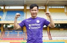 Tấn Tài khoác áo số 14 ở Hà Nội FC, sẵn sàng ra sân ở vòng 11 V-League