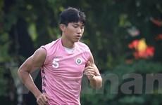 Không lên tuyển U22 Việt Nam, Văn Hậu trở lại cùng Hà Nội đấu Sài Gòn
