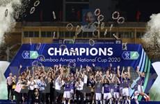 Quang Hải lại tỏa sáng, Hà Nội FC vô địch cúp Quốc gia 2020 ngoan mục