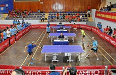 Giải bóng bàn cúp Hội Nhà báo Việt Nam thu hút 208 tay vợt tham dự