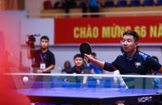 Khai mạc Giải bóng bàn cúp Hội Nhà báo Việt Nam năm 2020 tại Hà Nội