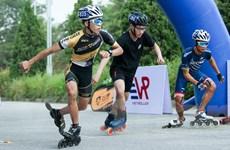 Khoảnh khắc trượt patin ấn tượng Giải đua Roller Sports Hà Nội 2020
