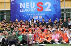 ĐH Kinh tế Quốc dân muốn phát triển thể thao sinh viên như Nhật Bản