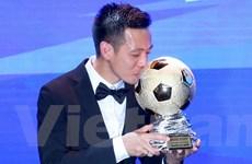 Văn Quyết trở thành Vận động viên xuất sắc nhất Việt Nam năm 2020