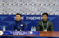 HLV Viettel nói gì khi cùng Hà Nội FC đứng nhóm cuối bảng xếp hạng?