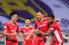 Trọng Hoàng lập siêu phẩm, Viettel hạ gục Hà Nội FC ở 'derby Thủ đô'