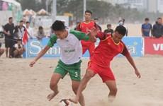 Thêm giải đấu bóng đá bãi biển quy mô lớn diễn ra tại miền Trung